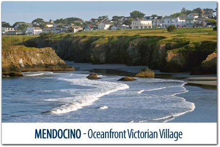 Postcards Mendocino
