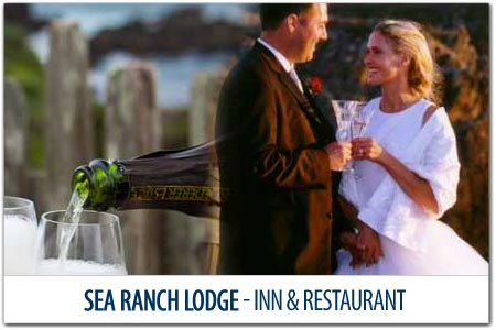 <br>YOUR OCEANFRONT WEDDING and RECEPTION<br>at the SEA RANCH LODGE
