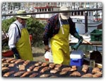 WORLD's LARGEST SALMON BBQ