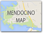 MAP and DIRECTIONS to the MENDOCINO COAST